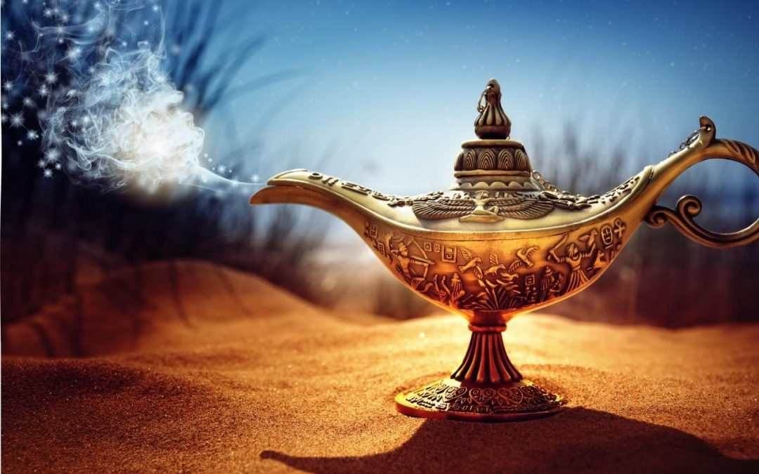 You are the Genie in the Lamp